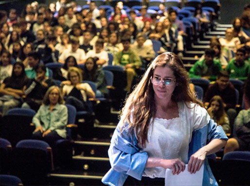 talleres de teatro para alumnos es uno de los proyectos de kachumbambé teatro