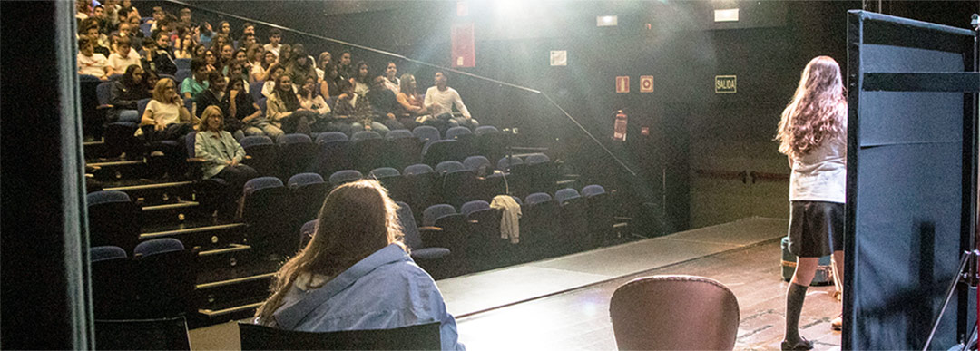 Kachumbambe Teatro trabaja con centros educativos